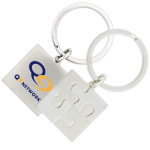 Promotional Engraved Value Keyrings